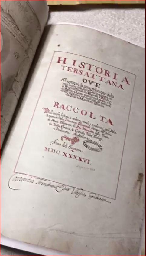 Un raro manoscritto del 1646 sulla Traslazione Miracolosa della Santa Casa a Tersatto il 9-10 maggio 1291